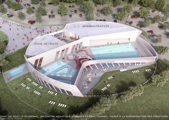 Nos r alisations for Piscine fagnieres